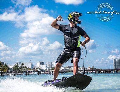 Уроки катания на Jet Surf в Канкуне