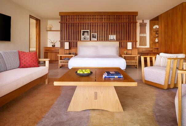 Nobu Hotel Los Cabos_Sake Suite Bed